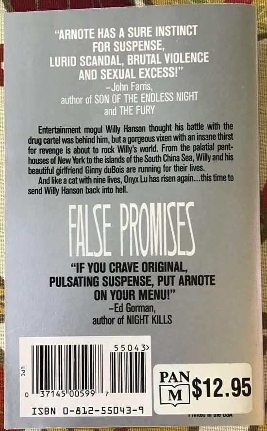 False Promises Ralph Arnote-back-small