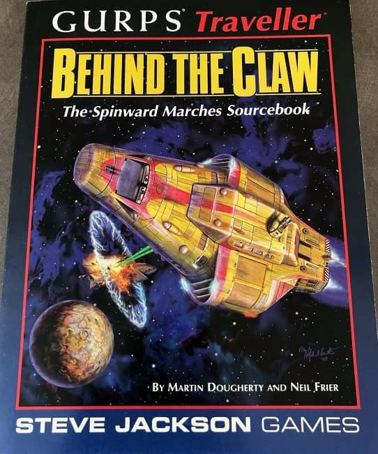 GURPS Traveller Behind the Claw-small