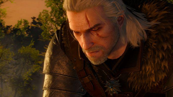 Geralt at sunset.