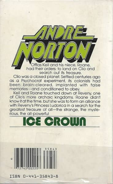 Ice Crown-Andre Norton-back-small