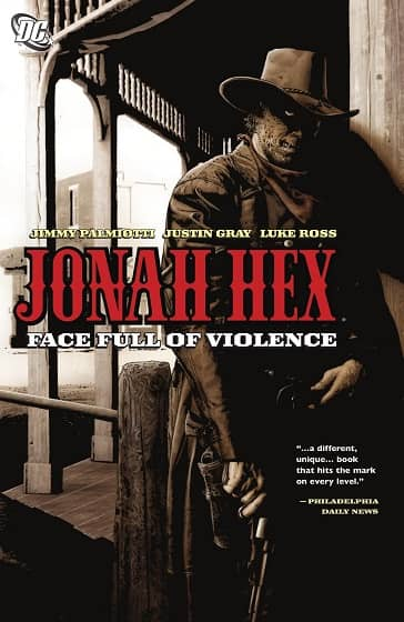 Jonah Hex Face Ful of Violence-small