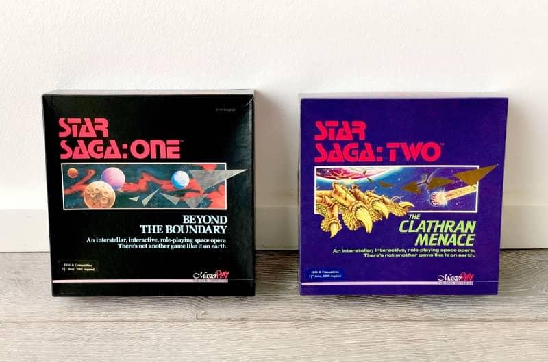 Star Saga One and Star Saga Two-small