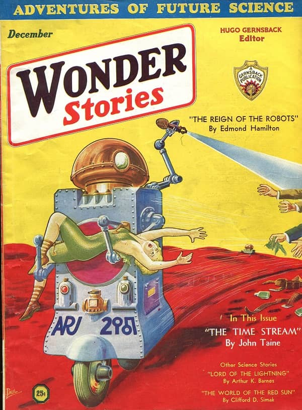 Wonder Stories December 1931-small