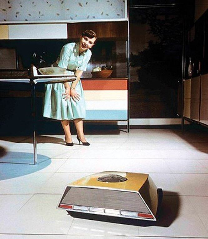 1957 RCA HECK mechanical maid