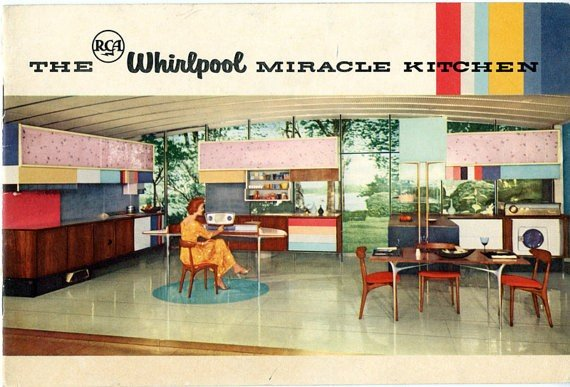 1957 RCA Whirlpool Miracle Kitchen