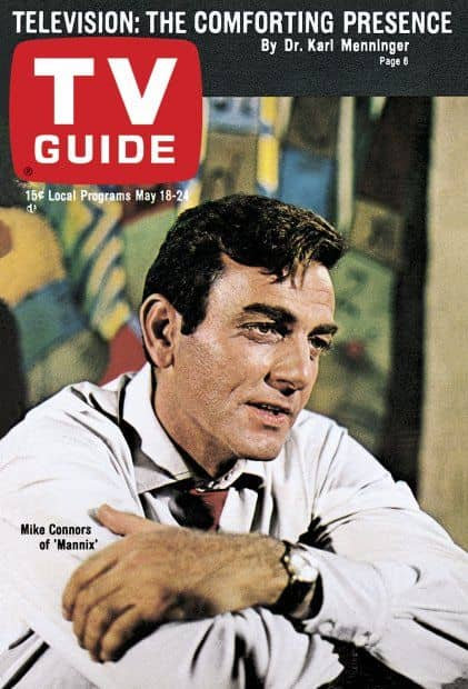 (7) Mike Connors as Mannix