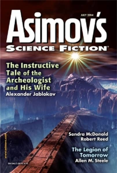 Asimov's Science Fiction July 2014