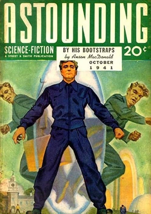 Astounding By His Bootstraps by Robert A. Heinlein-small