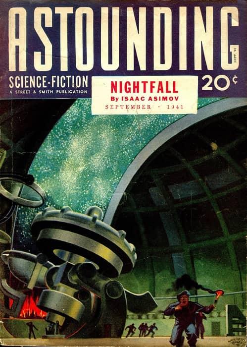 Astounding Nightfall Isaac Asimov-small