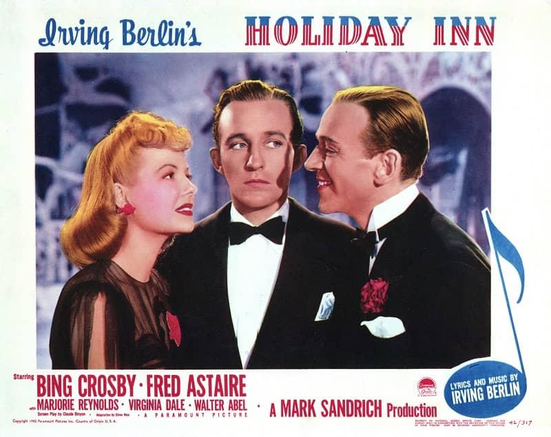 Bing Crosby Holiday Inn poster-small