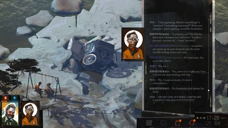 Disco Elysium screen shot-small