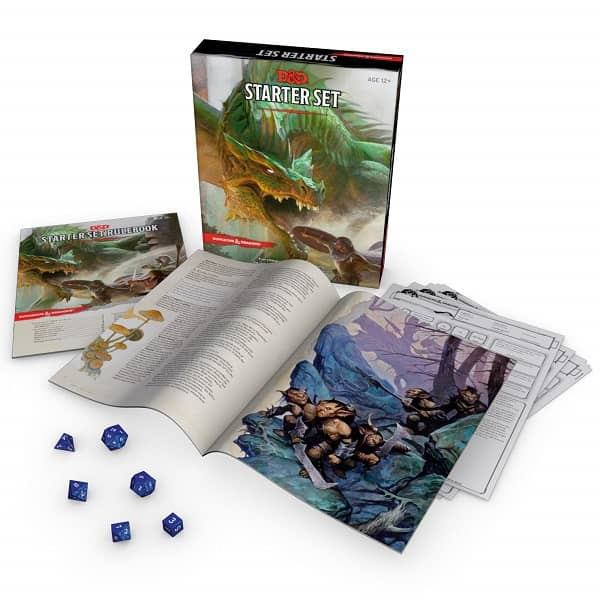 Dungeons & Dragons Starter Set-contents-small