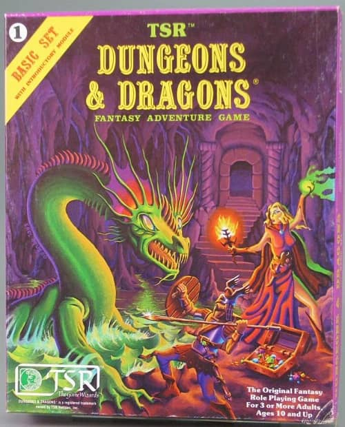 Dungeons and Dragons Basic Set-small