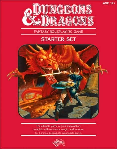 Dungeons and Dragons Red Box-small