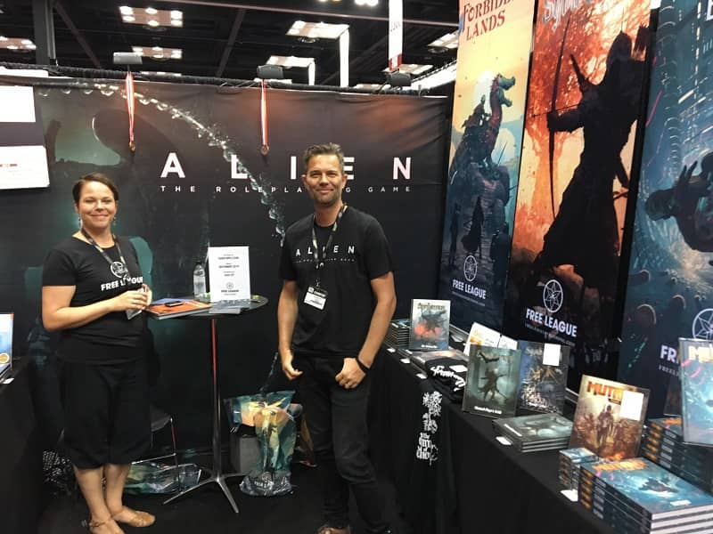 Free League Publishing at Gen Con 2019-small