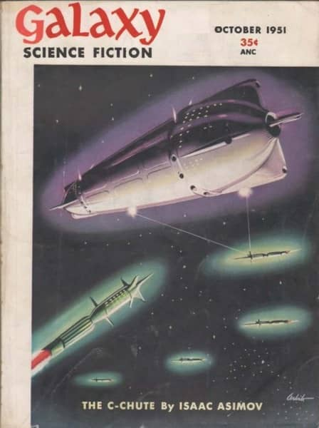 Galaxy Science Fiction October 1951