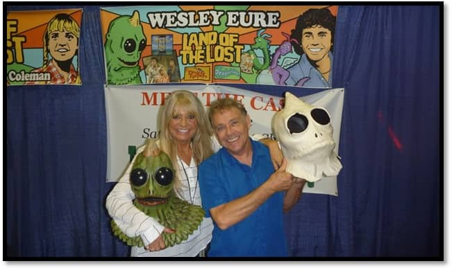 Holiday Horror Con 2019 Kathy Coleman and Wesley Eure
