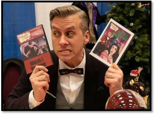"""Holiday Horror Con 2019 The charming """"Mister of Horror"""""""