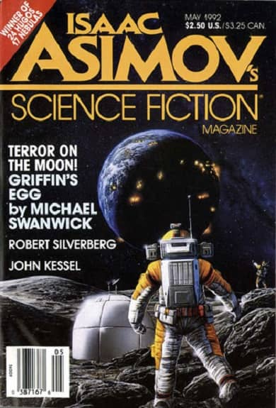 Isaac Asimov's Science Fiction Magazine May 1992-small
