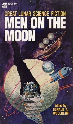 Men on the Moon, reprint edition (1969). Cover by Gray Morrow