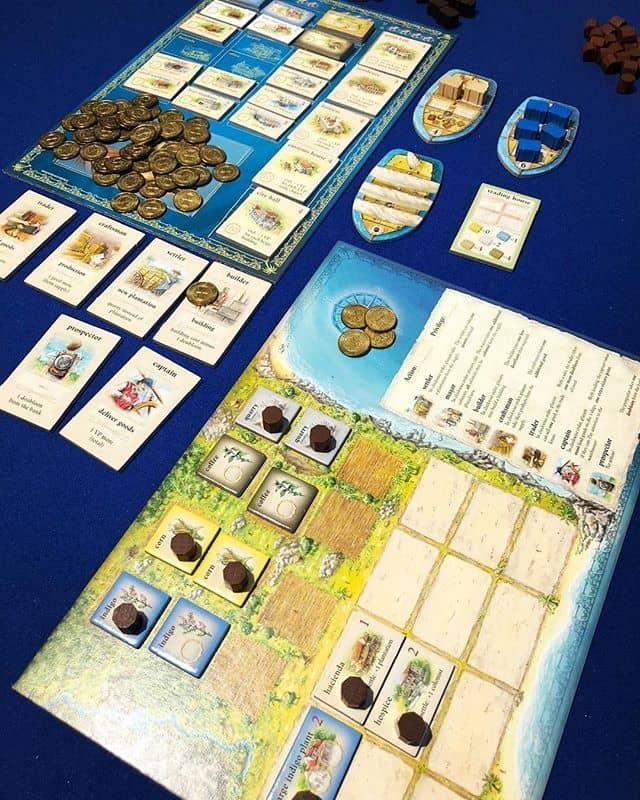 Puerto Rico game board