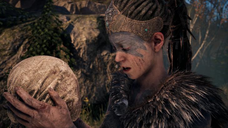 Senua with Dilion's head