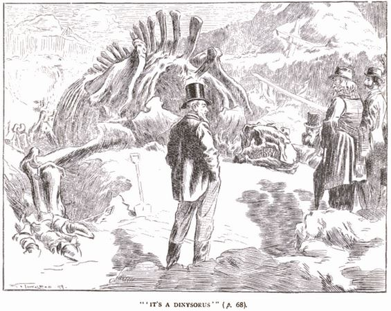 Silas P. Cornu's Divining Rod illustration