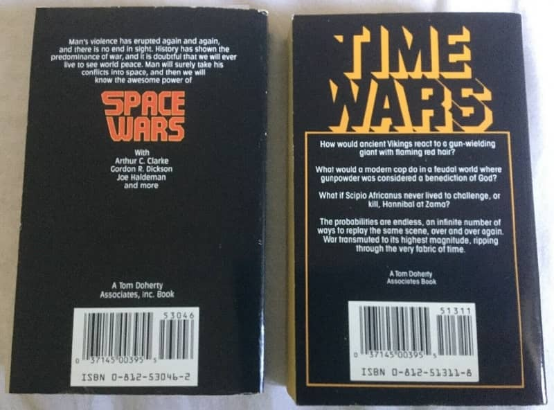 Space Wars Time Wars Poul Anderson-back-small