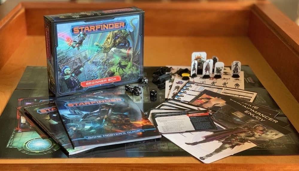 Starfinder Beginner Box-contents