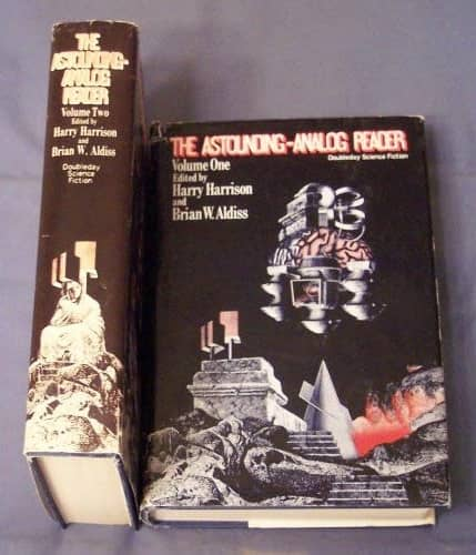 The Astounding Analog Reader Volume 1 and 2 hardcover
