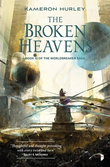 The Broken Heavens Kameron Hurley-small
