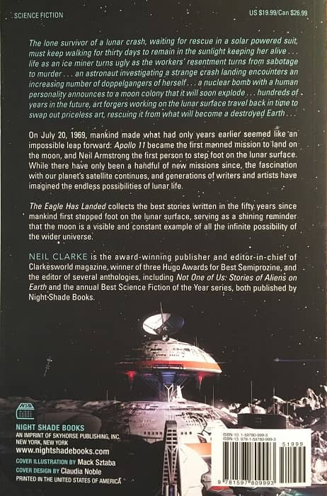 The Eagle Has Landed 50 Years of Lunar Science Fiction-back-small