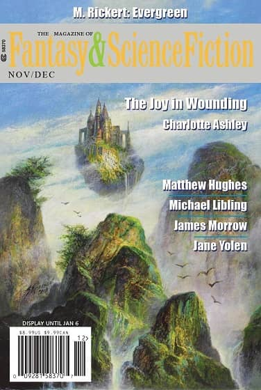 The Magazine of Fantasy and Science Fiction November December 2019-small