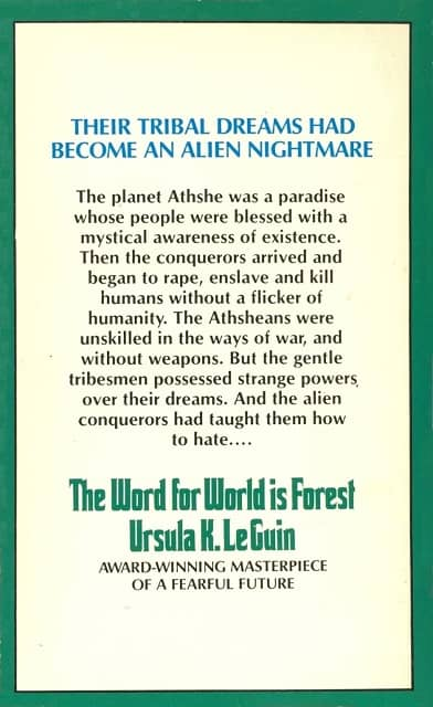 The Word for World is Forest paperback-back-small