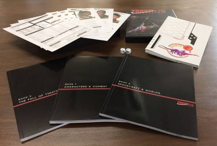 Traveller RPG Starter Set-contents-small