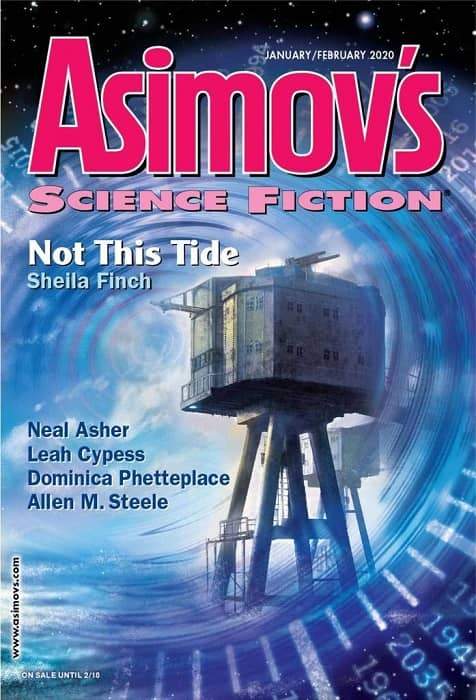 Asimov's Science Fiction Magazine January February 2020-small