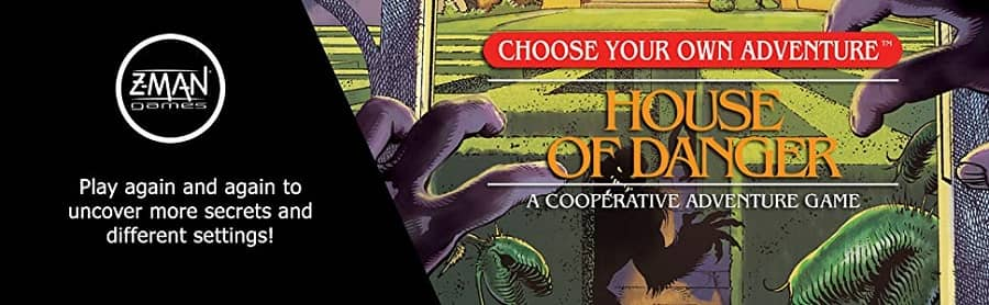 Choose Your Own Adventure House of Danger banner
