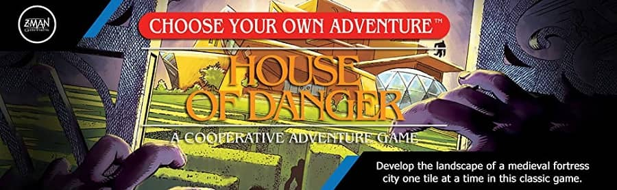 Choose Your Own Adventure House of Danger banner2