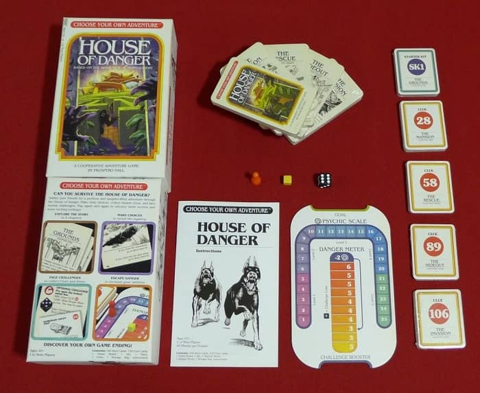 Choose Your Own Adventure House of Danger-contents-small