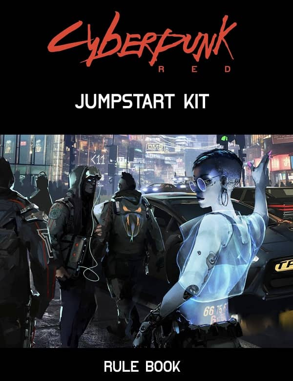 Cyberpunk Red Jumpstart Kit Rule Book-small