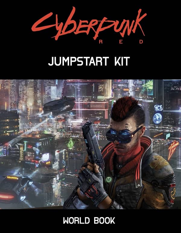 Cyberpunk Red Jumpstart Kit World Book-small