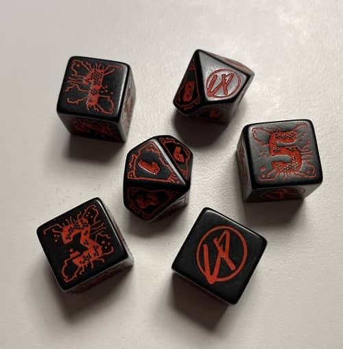 Cyberpunk Red Jumpstart Kit dice-small