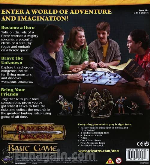Dungeons & Dragons basic game-back-small
