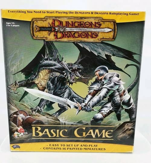 Dungeons & Dragons basic game-small