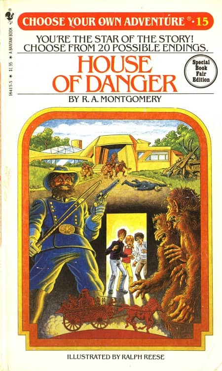 House of Danger Choose Your Own Adventure-small