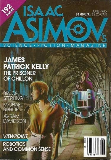Isaac Asimov's Science Fiction Magazine June 1986-small