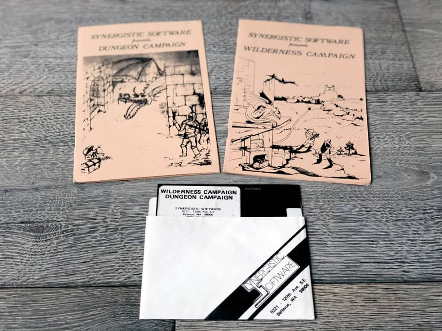 Synergistic Software Dungeon and Wilderness Campaign-small