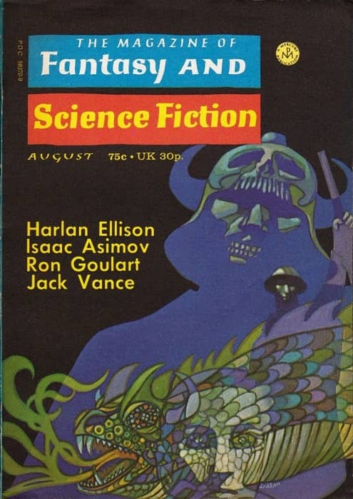 The Magazine of Fantasy and Science Fiction August 1972-small