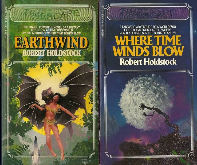 The Timescape Robert Holdstock-small