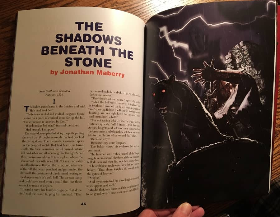 Weird Tales 363 The Shadows Beneath the Stone-small